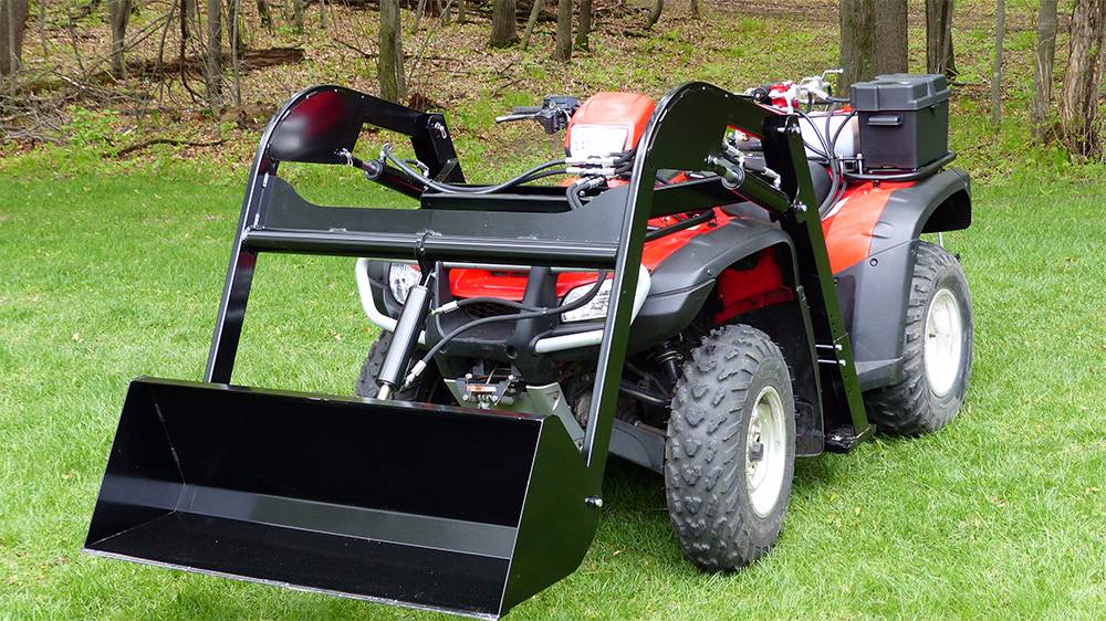 Used Wild Hare Atv Front Loader System Atvs Year 2017 For