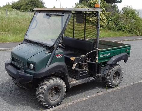used kawasaki 4010 diesel mule other year 2010 for sale mascus usa. Black Bedroom Furniture Sets. Home Design Ideas