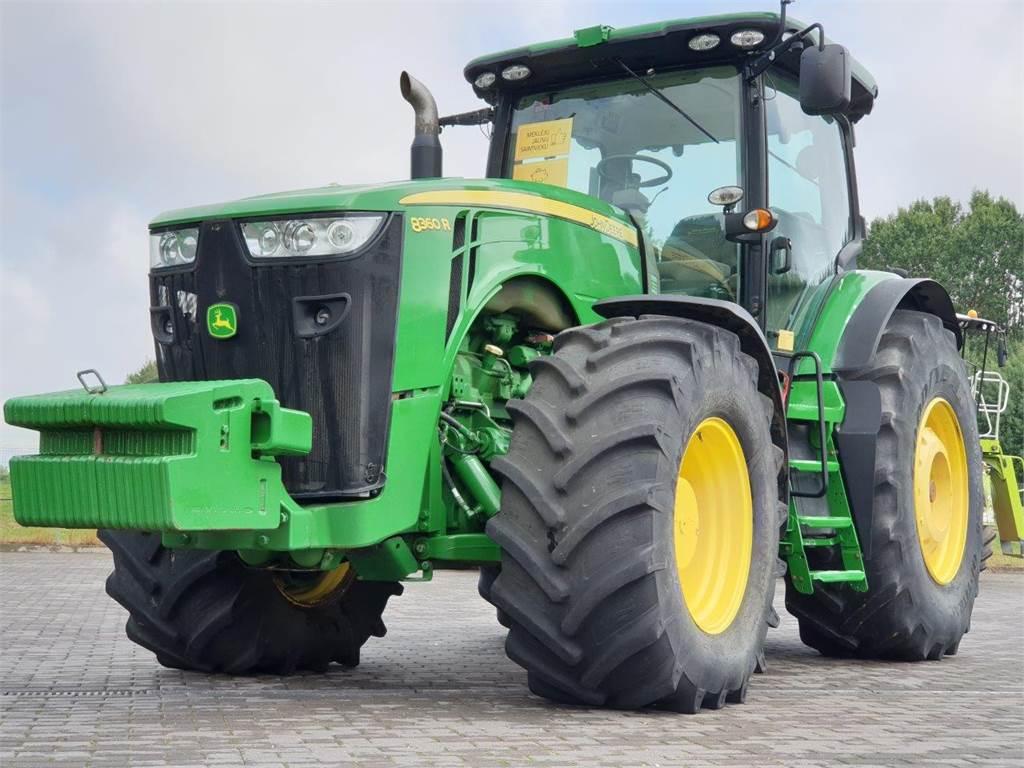 john deere 8360r preis baujahr 2011 gebrauchte traktoren gebraucht kaufen und. Black Bedroom Furniture Sets. Home Design Ideas