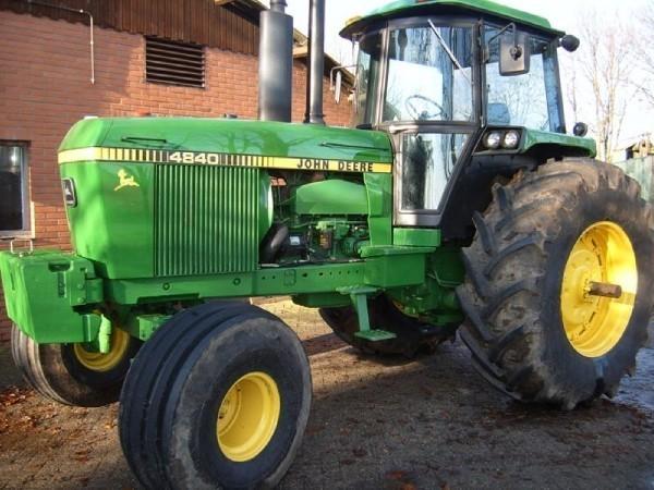 John Deere 4840 : Used john deere tractors for sale mascus usa