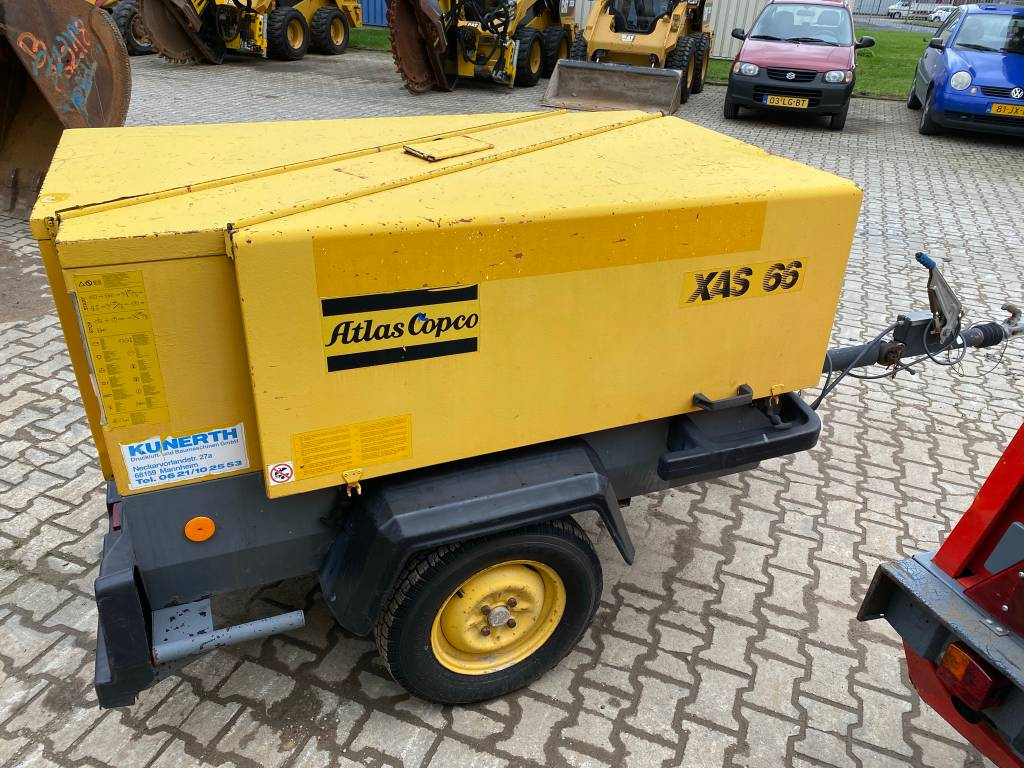 Atlas Copco XAS 66 DD + Papers