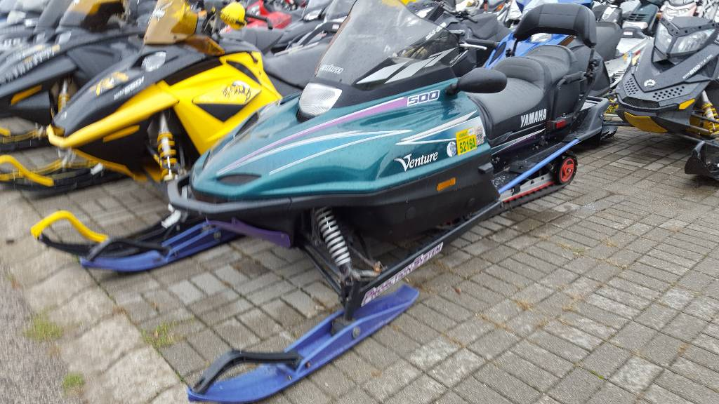 used yamaha venture 500 touring snowmobiles year 1999