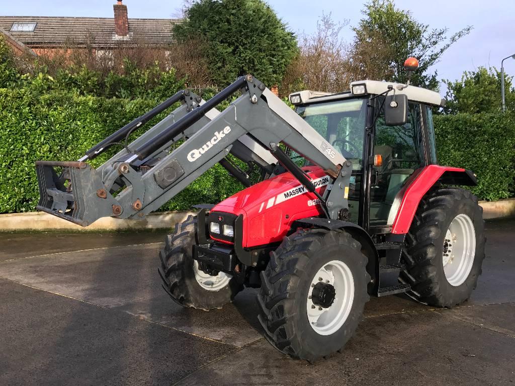 Massey Ferguson Tractor Loader Backhoe : Massey ferguson with loader year tractors