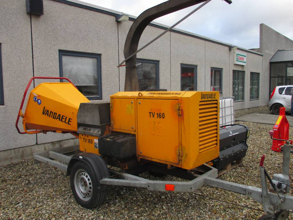 Used Vandaele TV160DH wood chippers Year: 2007 Price: US$ 10,327 for sale - Mascus USA