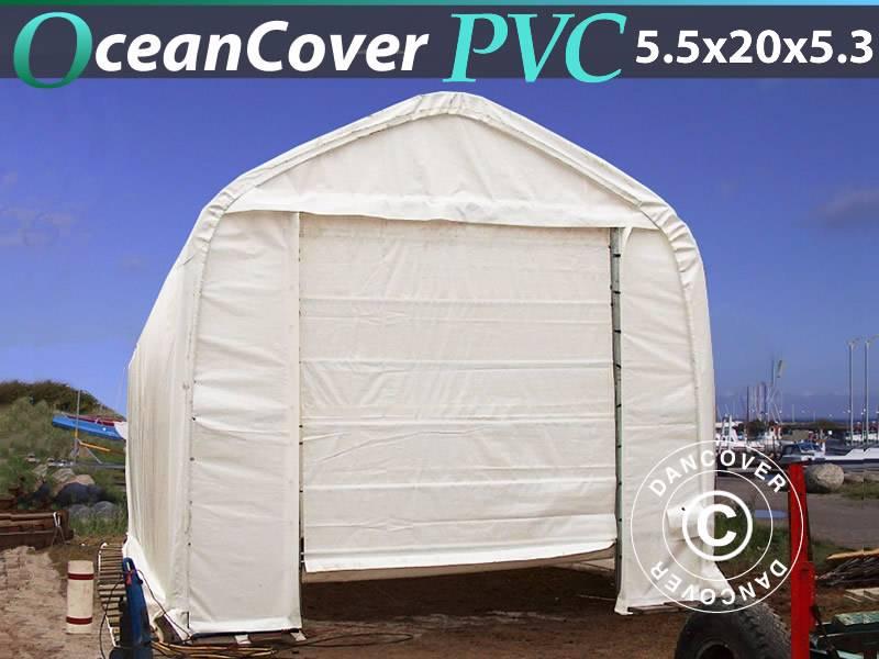 Dancover Storage Tent 5,5x20x4,1x5,3m PVC, Bådtelt, 2017