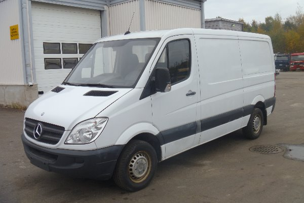 Used mercedes benz sprinter 309 cdi 3750 panel vans year for Mercedes benz price in usa