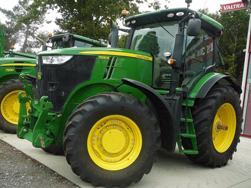 used john deere 7200 r tractors year 2012 for sale mascus usa. Black Bedroom Furniture Sets. Home Design Ideas