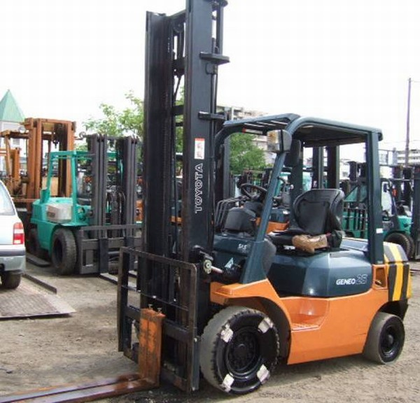 Used Toyota 02 7fd25 Diesel Forklifts Year 2003 For Sale Mascus Usa
