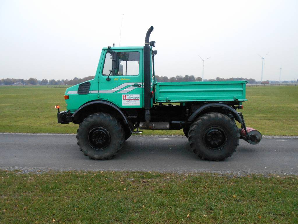 Mercedes benz unimog u1600 agrar year 1991 tractors for Mercedes benz tractors