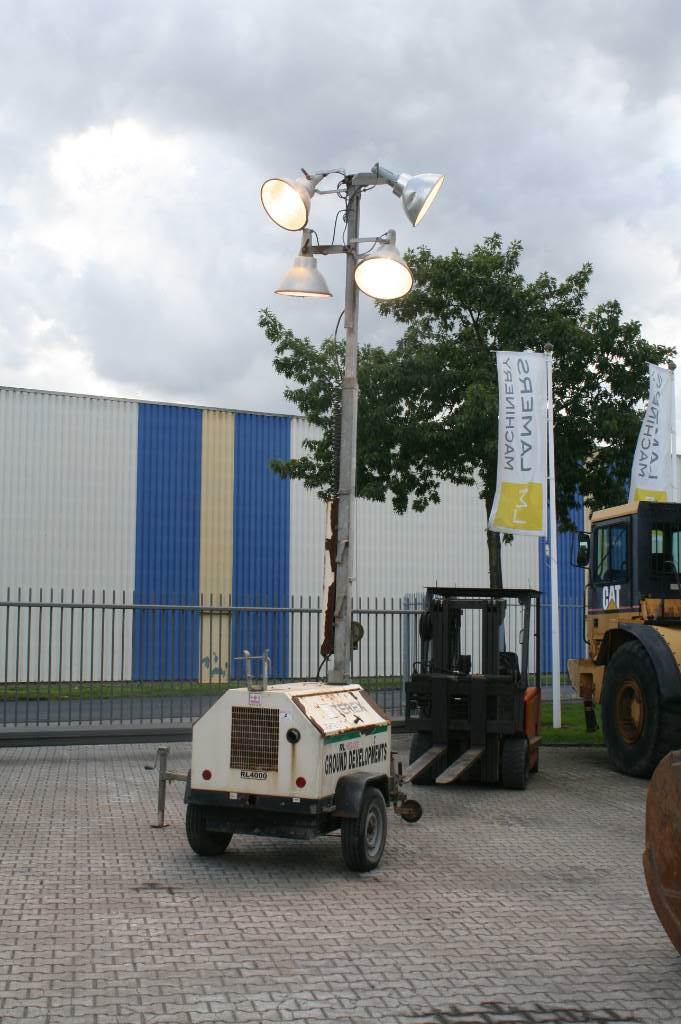 Terex RL 4000 with Kubota engine lighttower