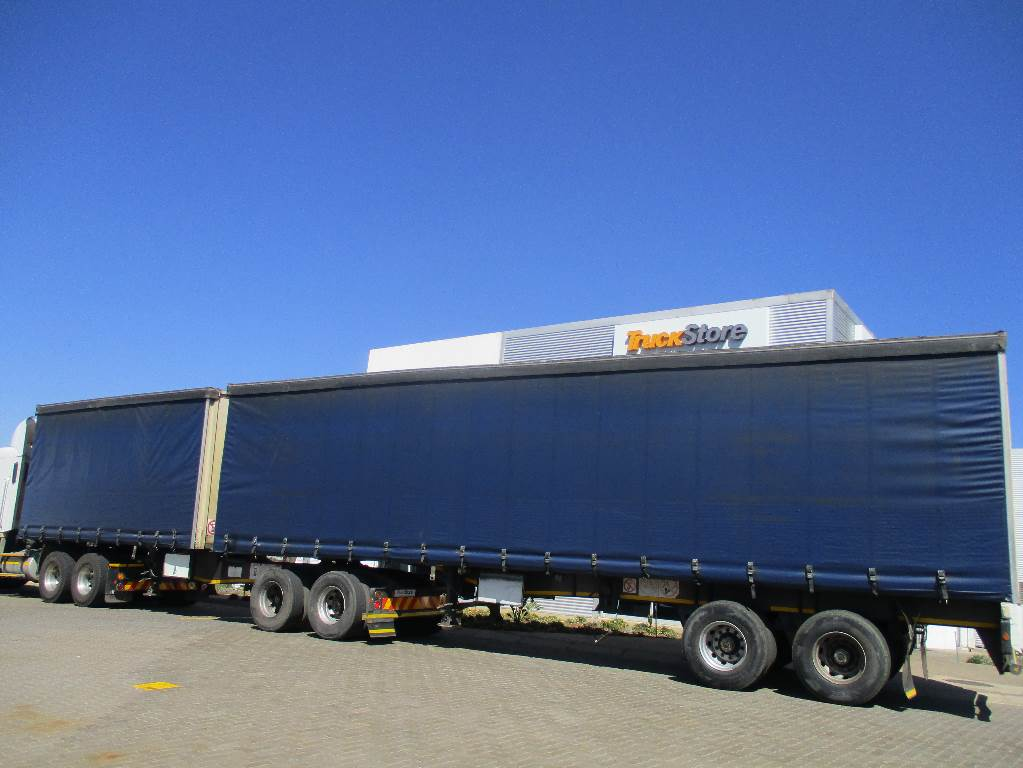 Commercial Trailer Unit : Sa truck bodies tautliner interlink semi trailer year