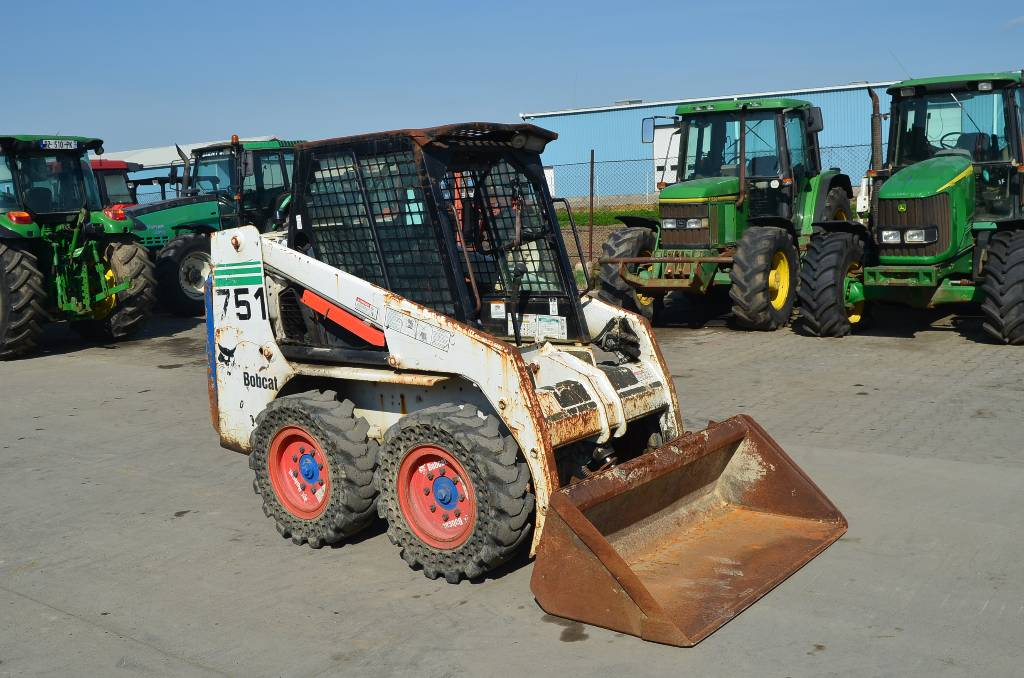 used bobcat 751 skid steer loaders year 2001 price us. Black Bedroom Furniture Sets. Home Design Ideas