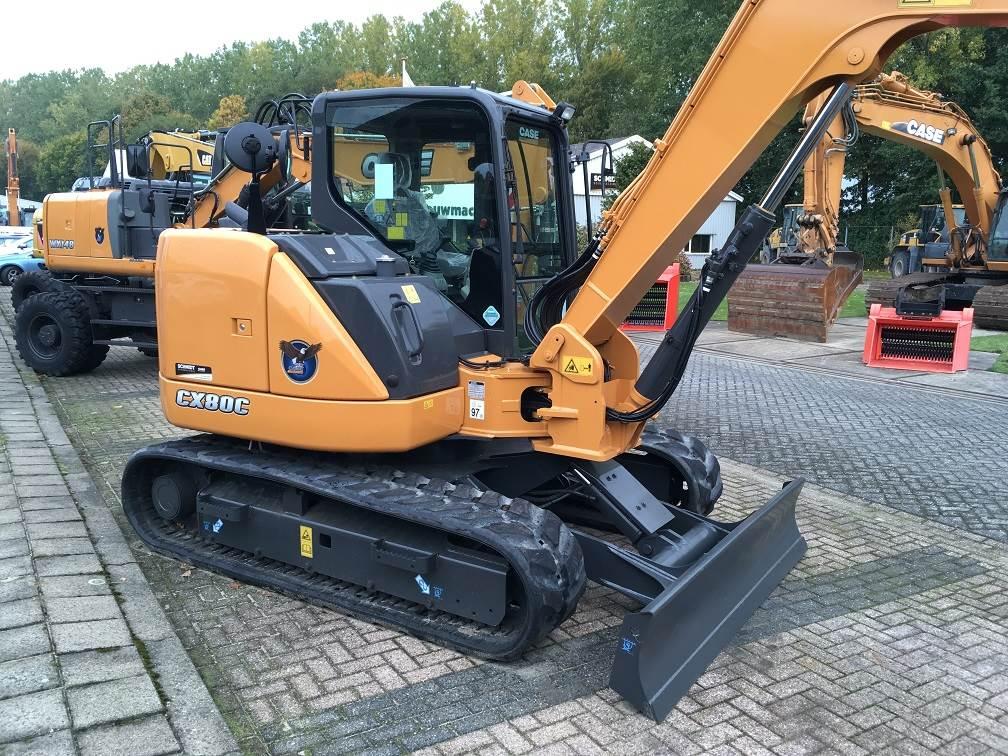 Used Case Cx 80 C Mini Excavators 7t 12t Year 2016 For