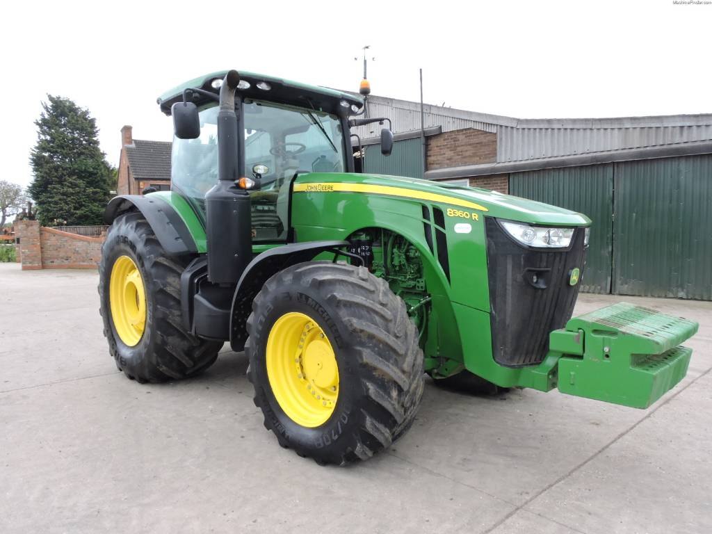used john deere 8360 r tractors year 2014 price 156 709 for sale mascus usa. Black Bedroom Furniture Sets. Home Design Ideas