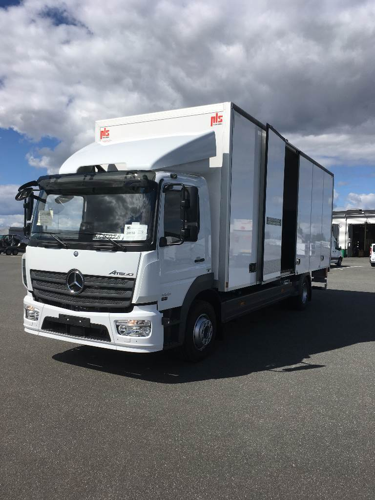 used mercedes benz atego 1523 box trucks year 2016 for sale mascus usa. Black Bedroom Furniture Sets. Home Design Ideas