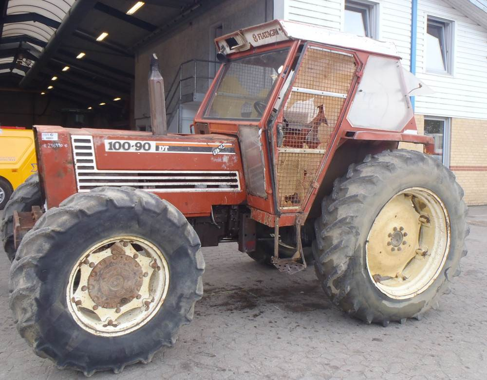 Fiat 100 90 Tractor : Fiat dt tractors year of manufacture