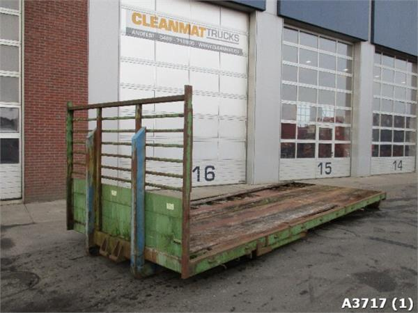 Flat container occasion prix 1 200 ann e d for Prix container vide