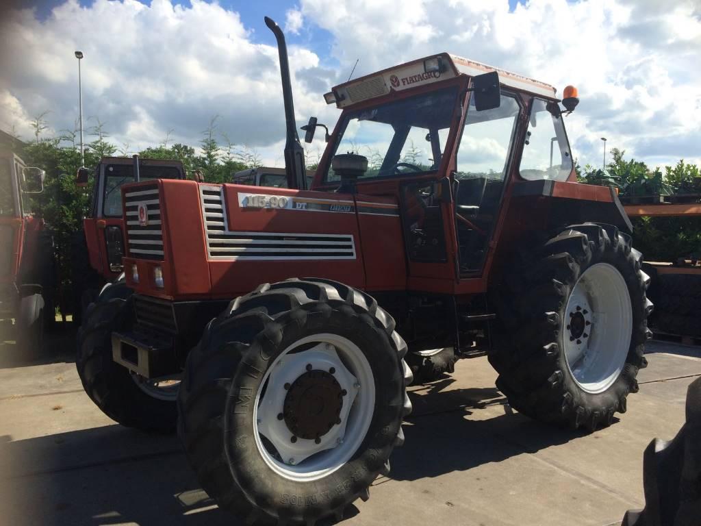 fiat 115-90 dt - ann u00e9e d u0026 39 immatriculation  1990 - tracteur - id  ecbb4f95