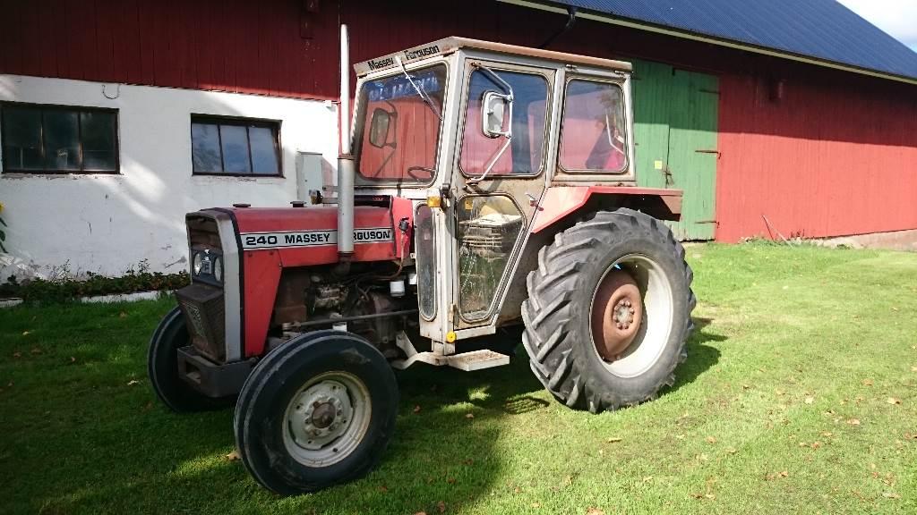Mf 240 Tractor Grill : Mf mnftr year tractors id ed ce