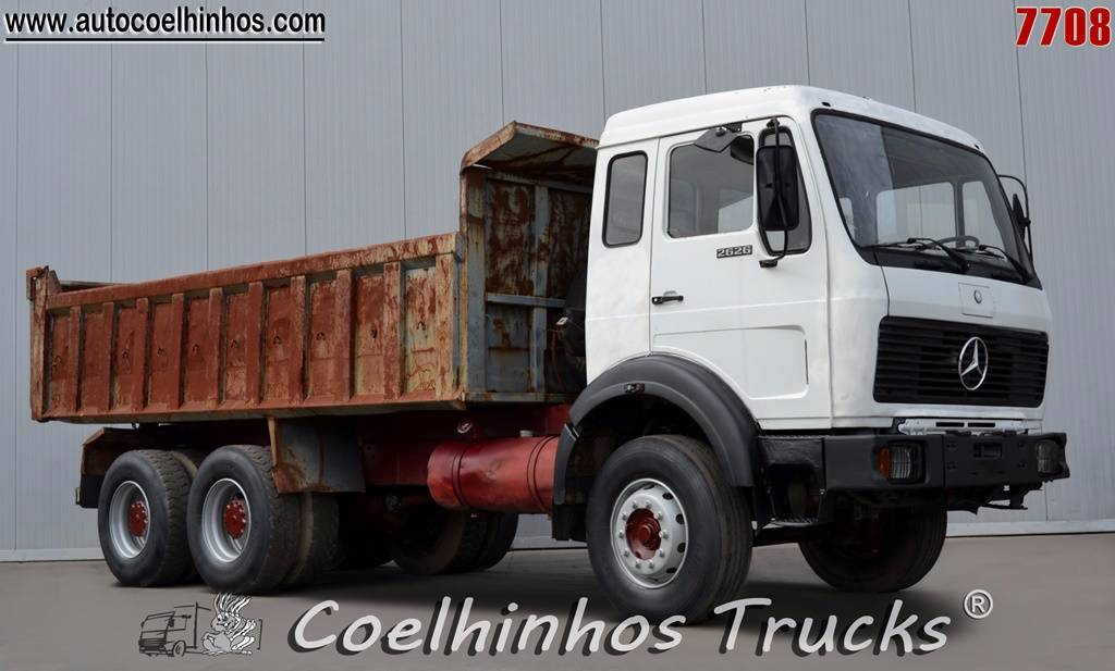 Used mercedes benz 2626 k 2628 dump trucks year 1980 for Used mercedes benz tipper trucks for sale in germany