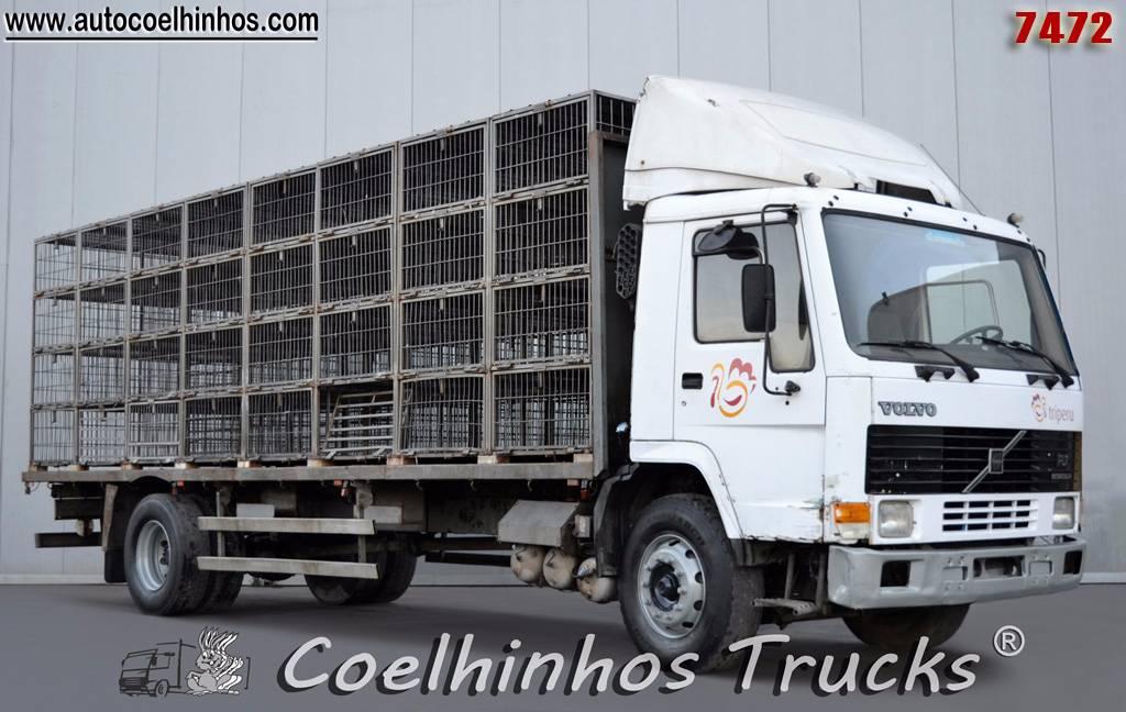 Used Volvo FL7 280 animal transport trucks Year: 1992 Price: $6,630 for sale - Mascus USA