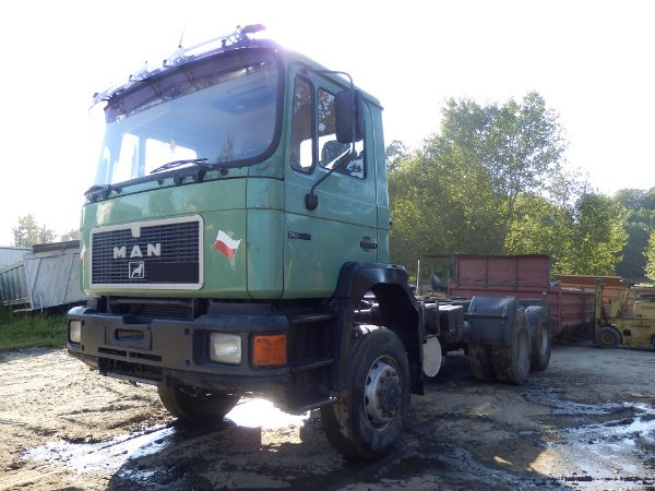 Used MAN 26.362 6x6 cab & Chassis Year: 1990 Price ...