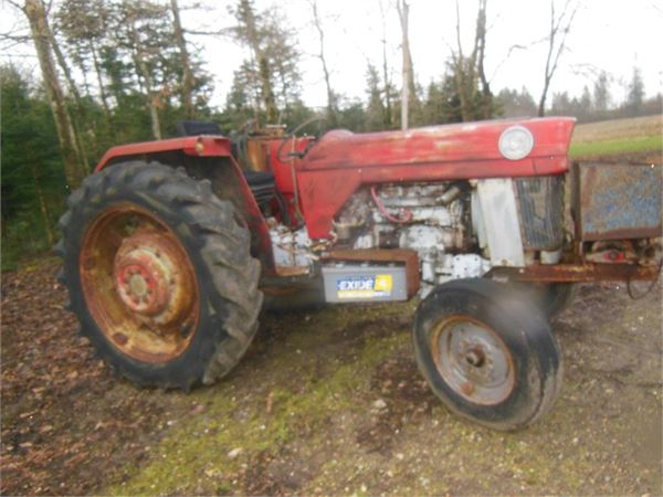 Mf Tractor 165 Value : Used massey ferguson m spil tractors price for