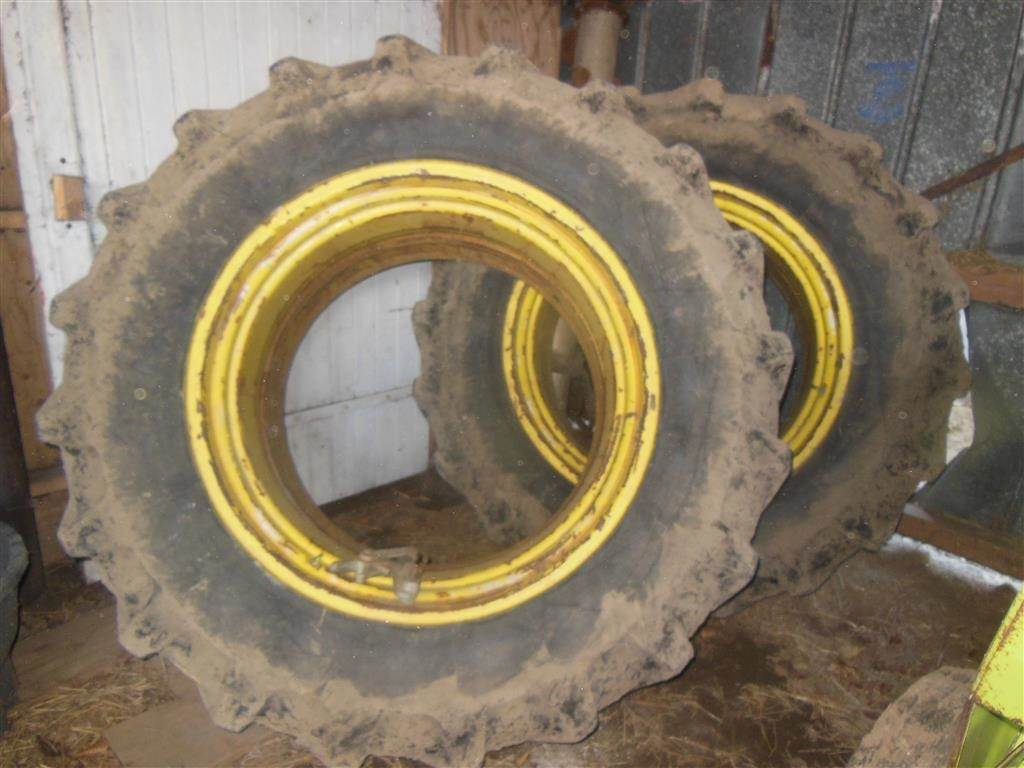 18 4x38 Tractor Duals : Used michelin med lase dual wheels price