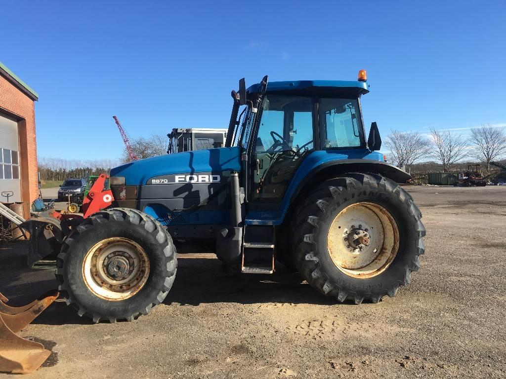 Ford 8670 til salgs, 1999 i , Danmark - brukte traktor - Mascus Norge