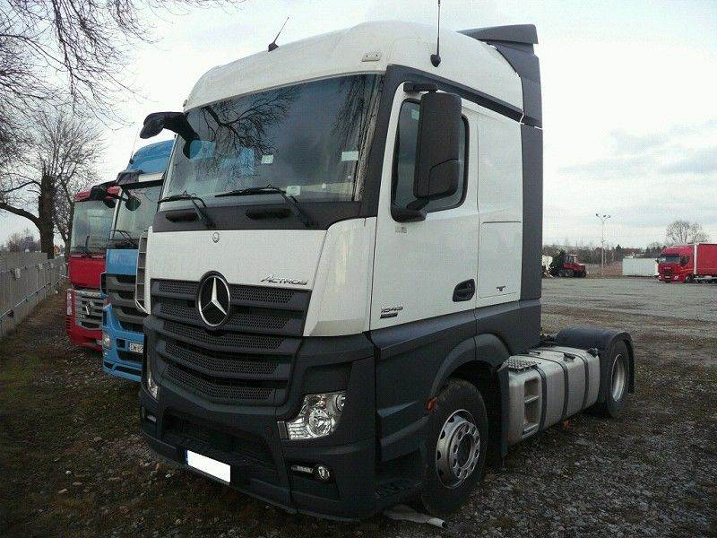 Used mercedes benz actros tractor units year 2014 price for Mercedes benz trucks price list
