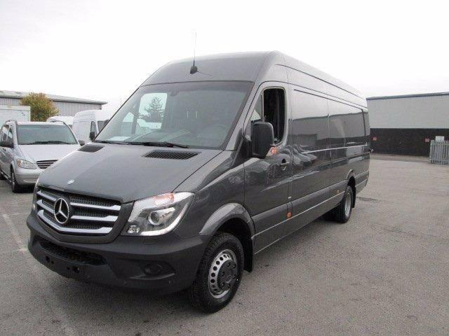 Mercedes benz sprinter 519cdi year 2015 panel vans for Mercedes benz usa vans