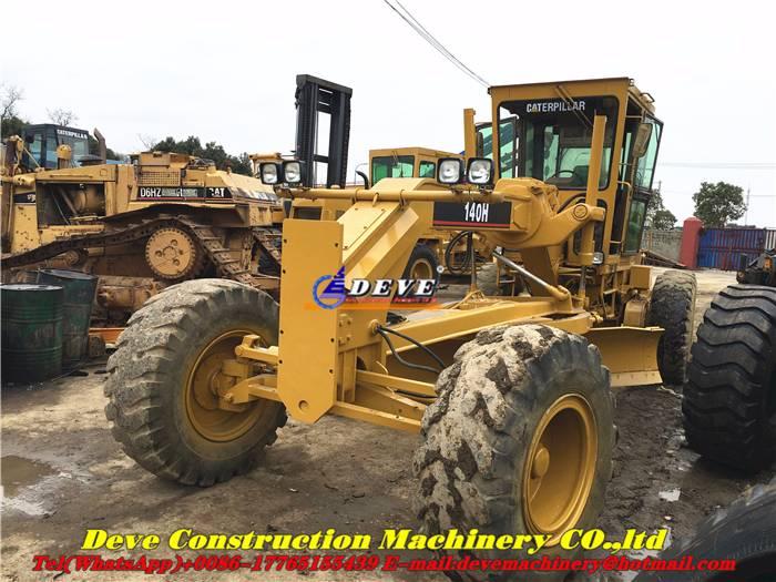 Used Caterpillar 140 H 140h Motor Grader 140h Rsmodell