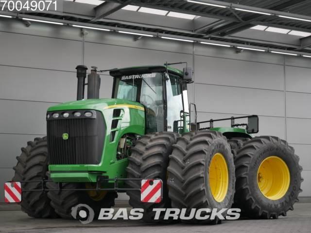 Tractor Dual Tires Handling : Used john deere tractor traktor powershift dual