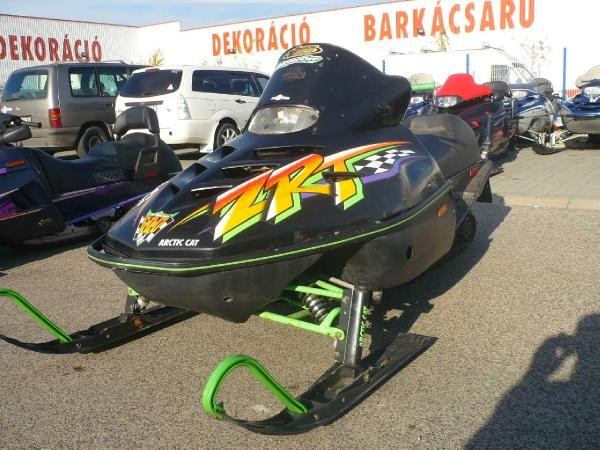 Used Arctic Cat Zrt Triple 600 1996 Snowmobiles Year  1996