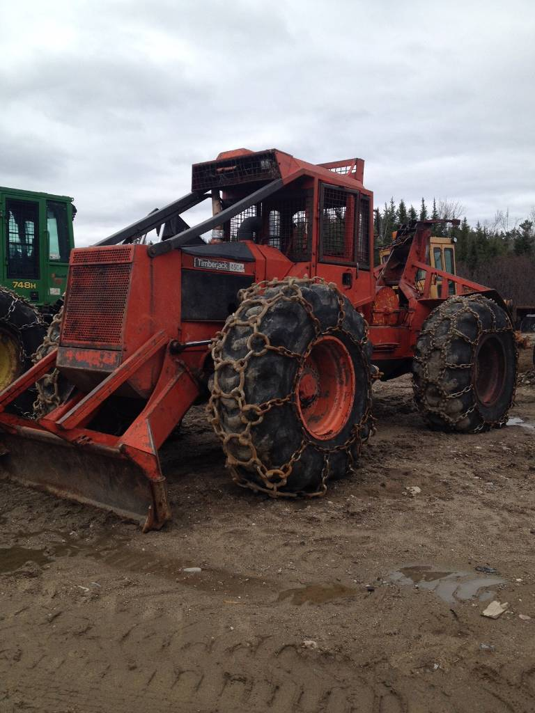 Used Timberjack 450a Skidders Year 1986 Price 29 980