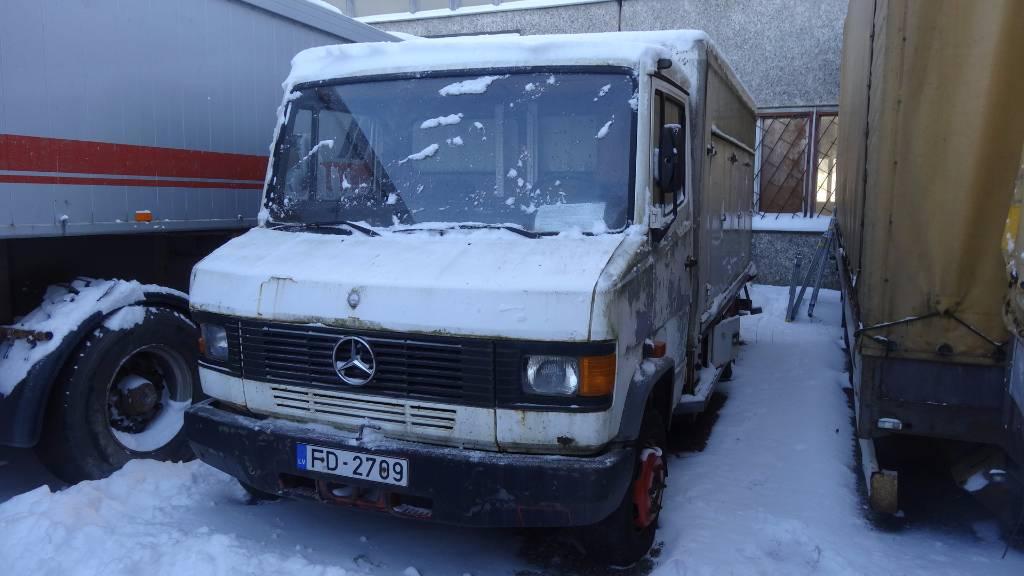 Used mercedes benz 609d panel vans year 1991 price for Mercedes benz vans usa