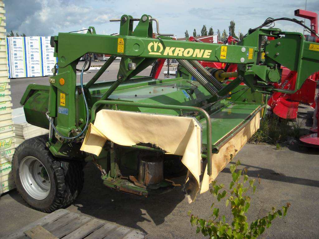 used krone easycut 3210 cv mower
