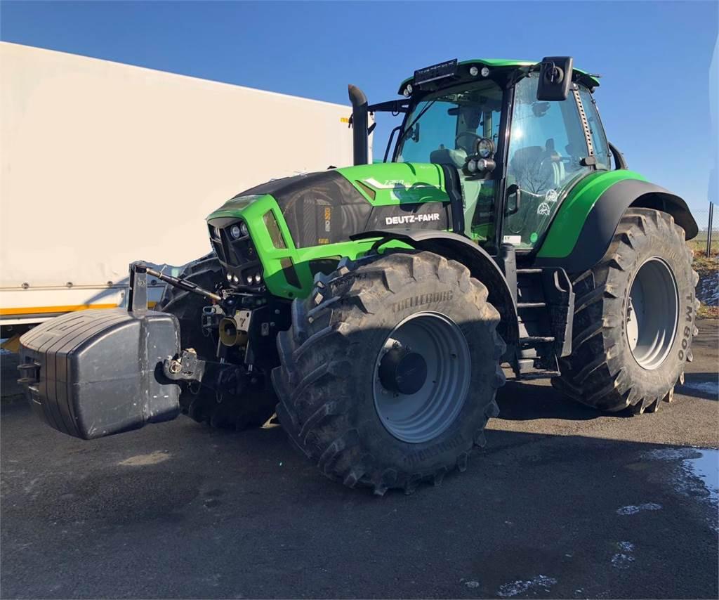 deutz fahr 7250 ttv kunde preis baujahr 2013 gebrauchte traktoren gebraucht kaufen. Black Bedroom Furniture Sets. Home Design Ideas