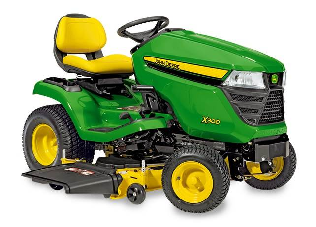 Used John Deere X350 Riding Mowers Year 2014 For Sale