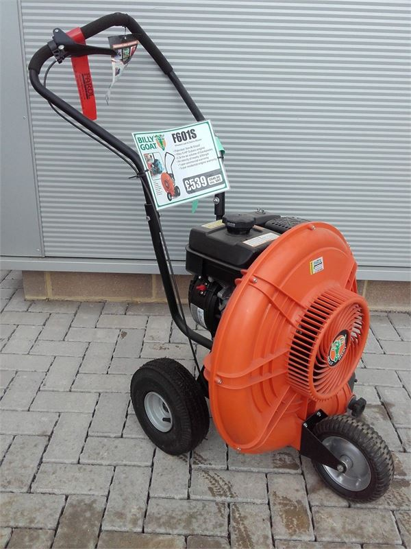 Billy Goat Blowers : Used billy goat f s leaf blower debris removal equipment