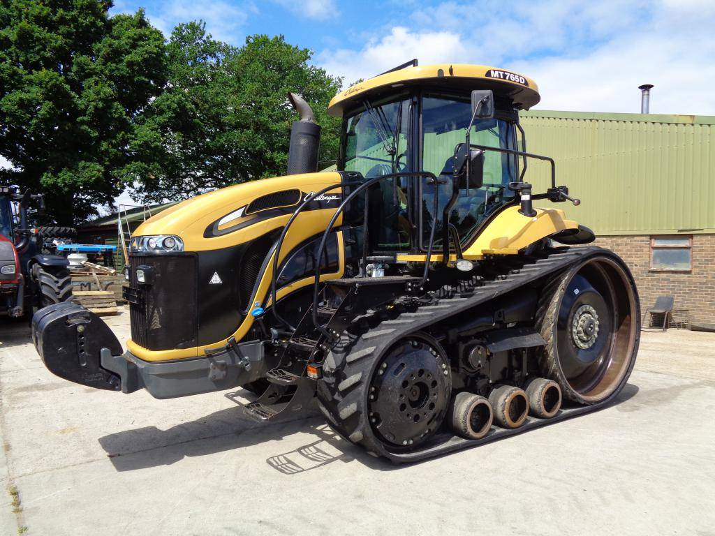 Cat Challenger Tractors : Used caterpillar challenger tractors year price