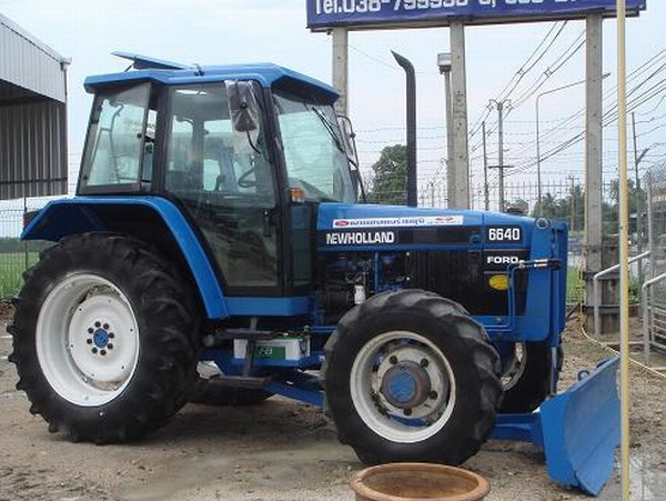 6640 Ford Tractor : New holland tractors year of manufacture