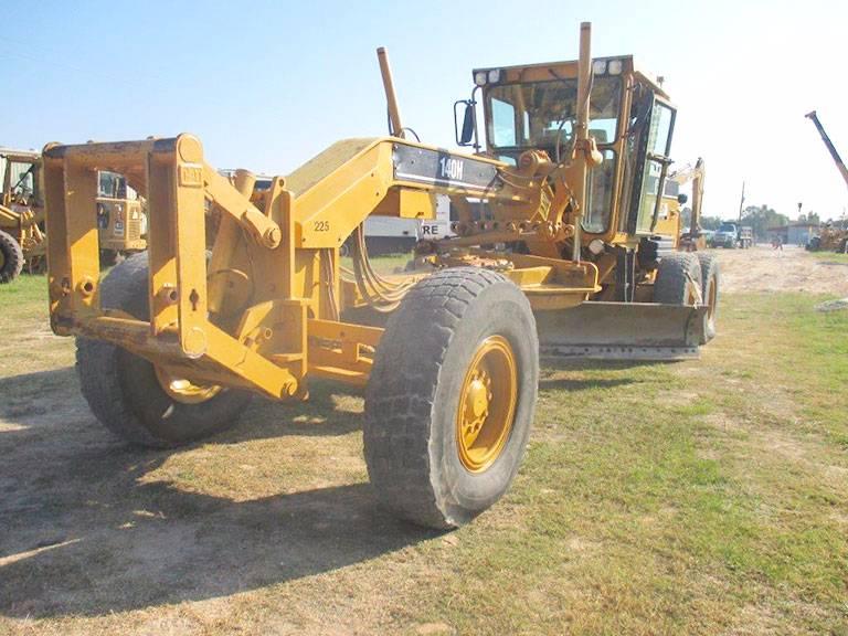 Caterpillar 140 H For Sale Brookshire Texas Year 2002