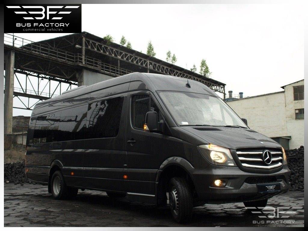 Used mercedes benz sprinter 519 xxl tourist line 23 1 for Mercedes benz product line