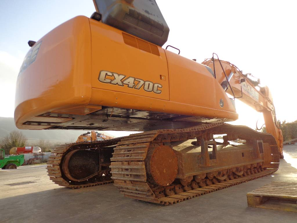 Used case cx 470 c crawler excavators year 2012 price for Avis e case construction