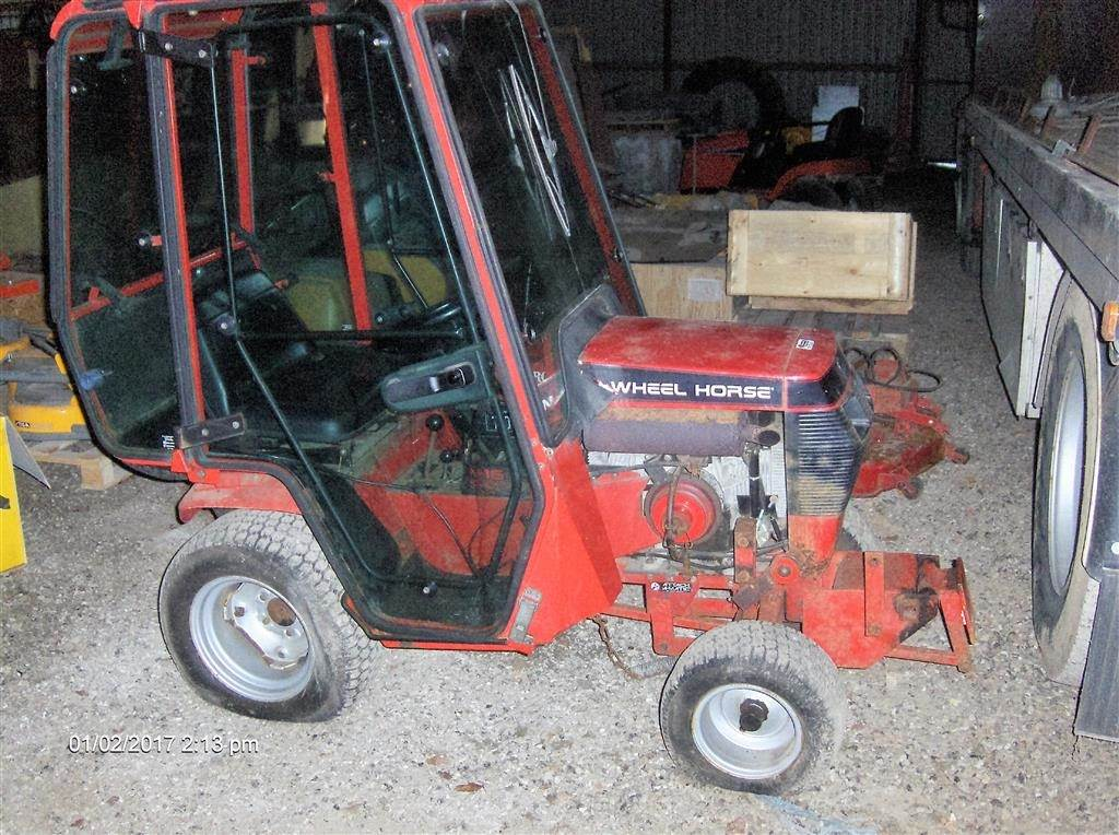 Mini Wheel Horse Tractor : Used wheel horse compact tractors price for sale