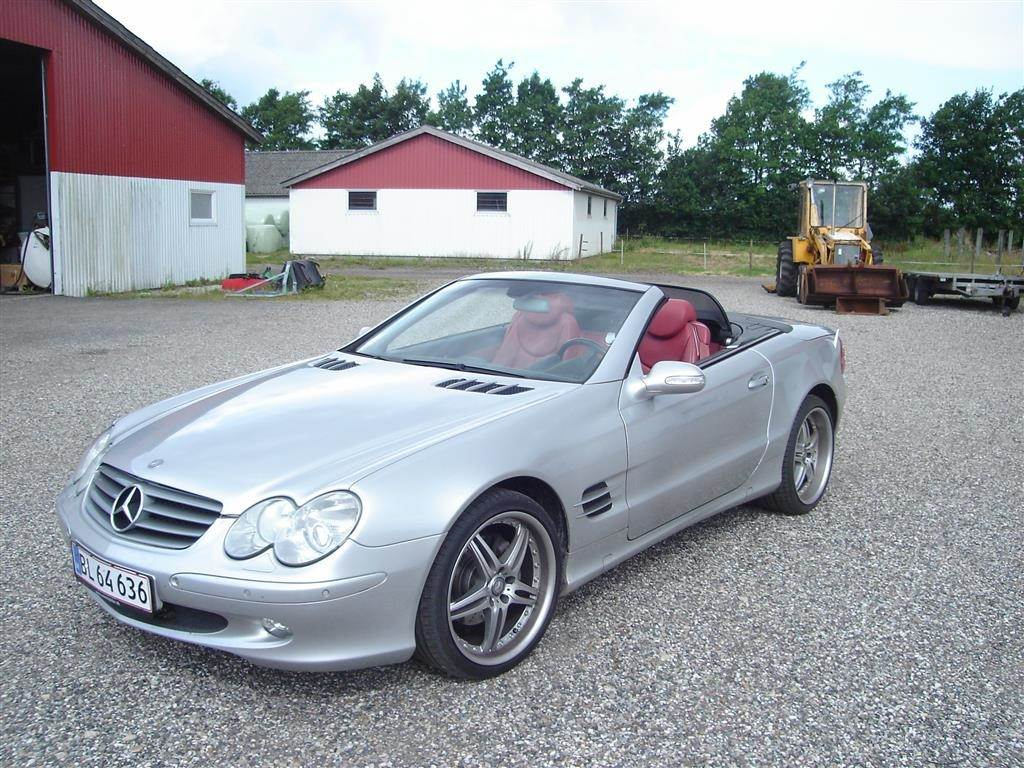 mercedes benz sl 350 3 7 aut occasion prix 55 750 ann e d 39 immatriculation 2003 voiture. Black Bedroom Furniture Sets. Home Design Ideas