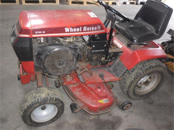 Mini Wheel Horse Tractor : Used wheel horse speed compact tractors price