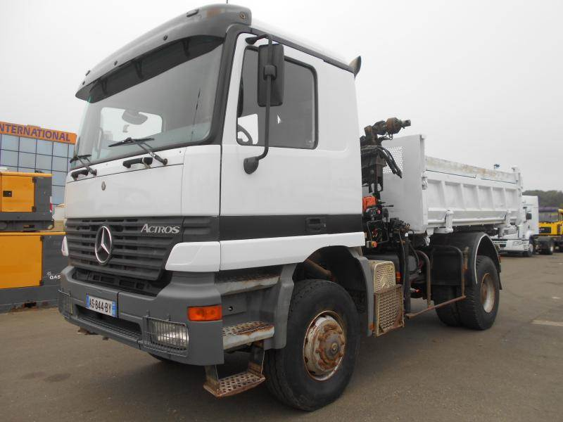 Mercedes benz actros 2031 tipper trucks year of mnftr for Used mercedes benz tipper trucks for sale in germany