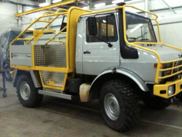Used mercedes benz unimog 1300l other trucks year 1987 for Mercedes benz unimog for sale usa